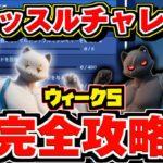 【フォートナイト】ニャッスル チャレンジ 完全攻略!!