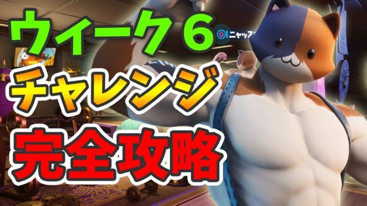 【最新ニャッスル チャレンジ 完全攻略】(ウィーク6)【フォートナイト】