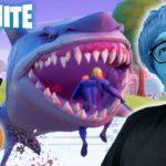 【フォートナイト】サメで波乗りしたいのに食べられるかわいそうなヒカキン【ヒカキンゲームズ】【Fortnite】