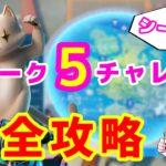 【フォートナイト】ウィーク5チャレンジ完全攻略【シーズン3】