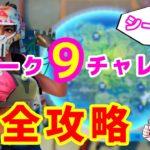 【フォートナイト】ウィーク9チャレンジ完全攻略【シーズン3】