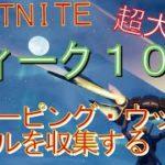 [Fortnite フォートナイト]トレの攻略動画  ウィーク10 チャレンジ ウィーピング・ウッズでホタルを収集する