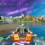 Fortnite_フォートナイト 攻略 ウィーク8チャレンジ モーターボートメイヘムでボートのタイムトライアルをクリアする