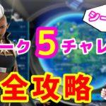 【フォートナイト】ウィーク5チャレンジ完全攻略【シーズン4】
