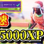 【爆速レベル上げ】パンチカード攻略で375000XPを効率良くゲットする方法「ぴかぴかリンゴ」「フォートナイト」「シーズン5」