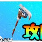 【フォートナイト】スノーダウンチャレンジ「スノーイーフロッパーを釣る」を攻略!!part330【チャレンジ】