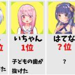 【フォートナイト】バーボン〇〇ランキング!