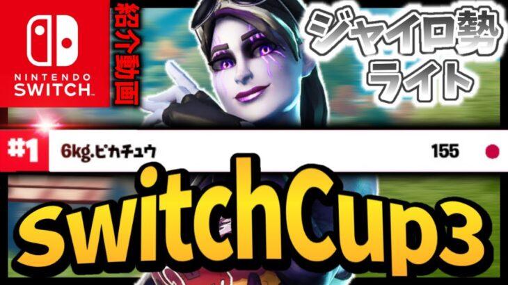 【フォートナイト】SwitchCup3ソロ1位のライト選手の紹介!【スイッチ版フォートナイト】