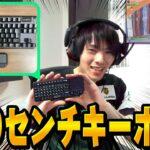 【フォートナイト】ネフライト、超小さいキーボードでプレイしたらまさかの結果に!