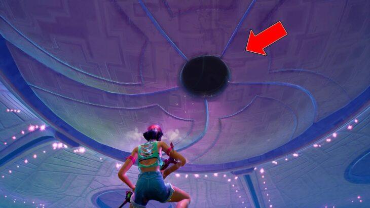 巨大UFOの中に入ってみた…【フォートナイト】