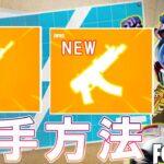 【先行情報】2つの新武器の意外な入手方法が判明!!チャプター2シーズン8【フォートナイト】